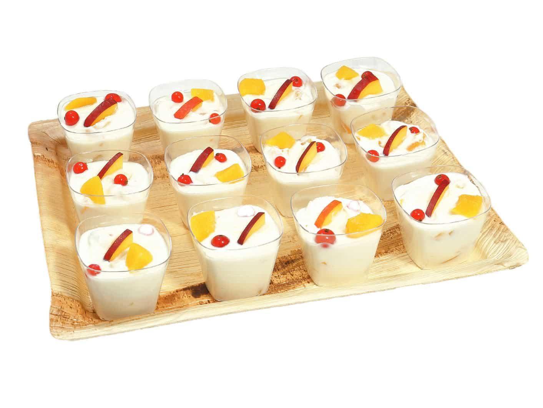 12er Quarkcreme mit Pfirsich