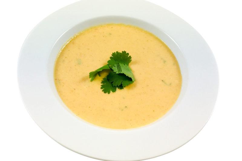 Süßkartoffel-Kokos Suppe