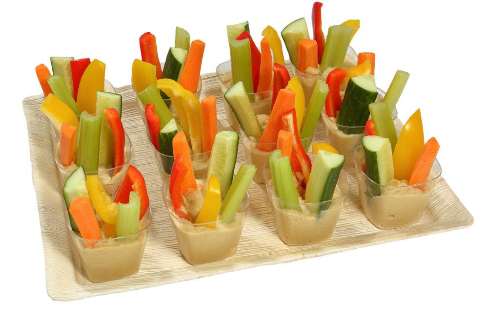 12er Gemüse Hummus Schälchen