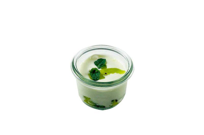 Kiwi-Soja Joghurt