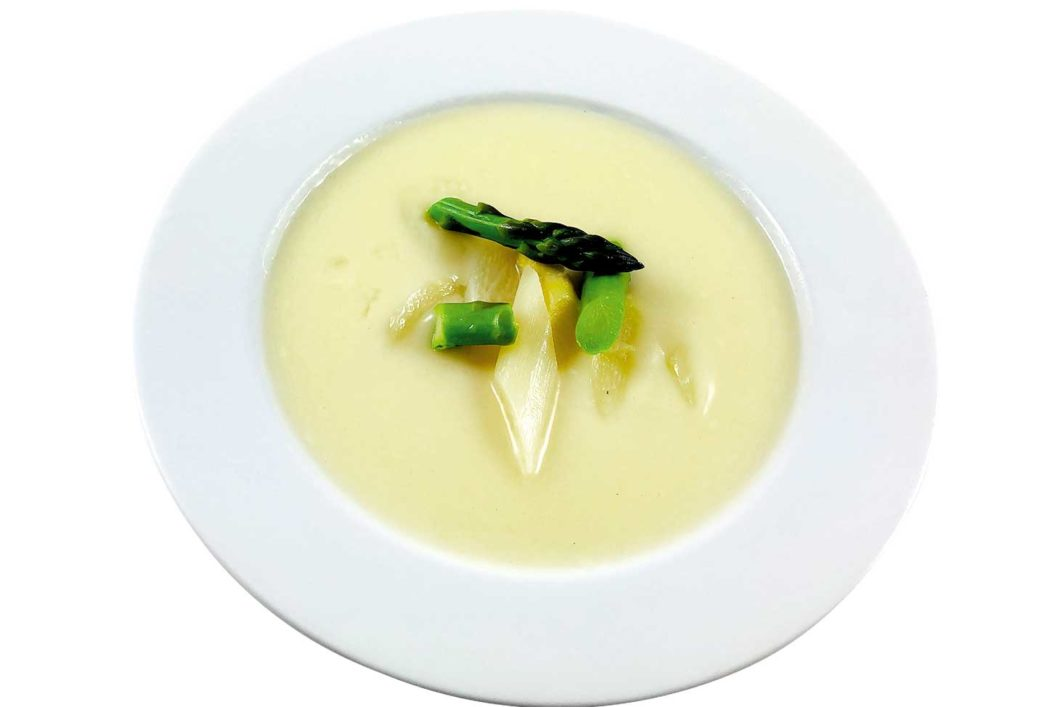 Spargelcremesuppe Suppe