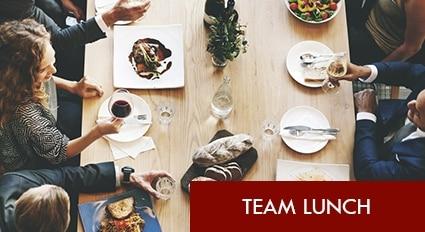 Teamlunch Berlin Mittagessen