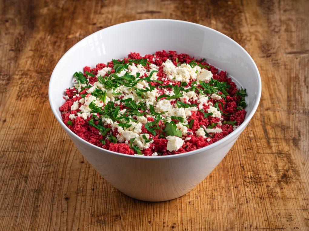 2,5 l Rote Beete Bulgur Salat