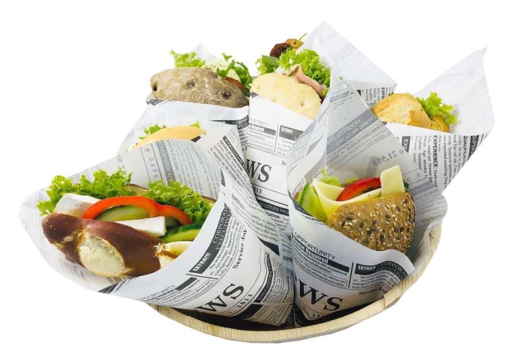 6er Sandwich Mix Korb