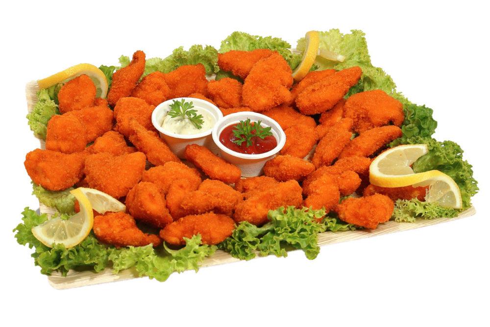 40er Chicken Crossies Platte