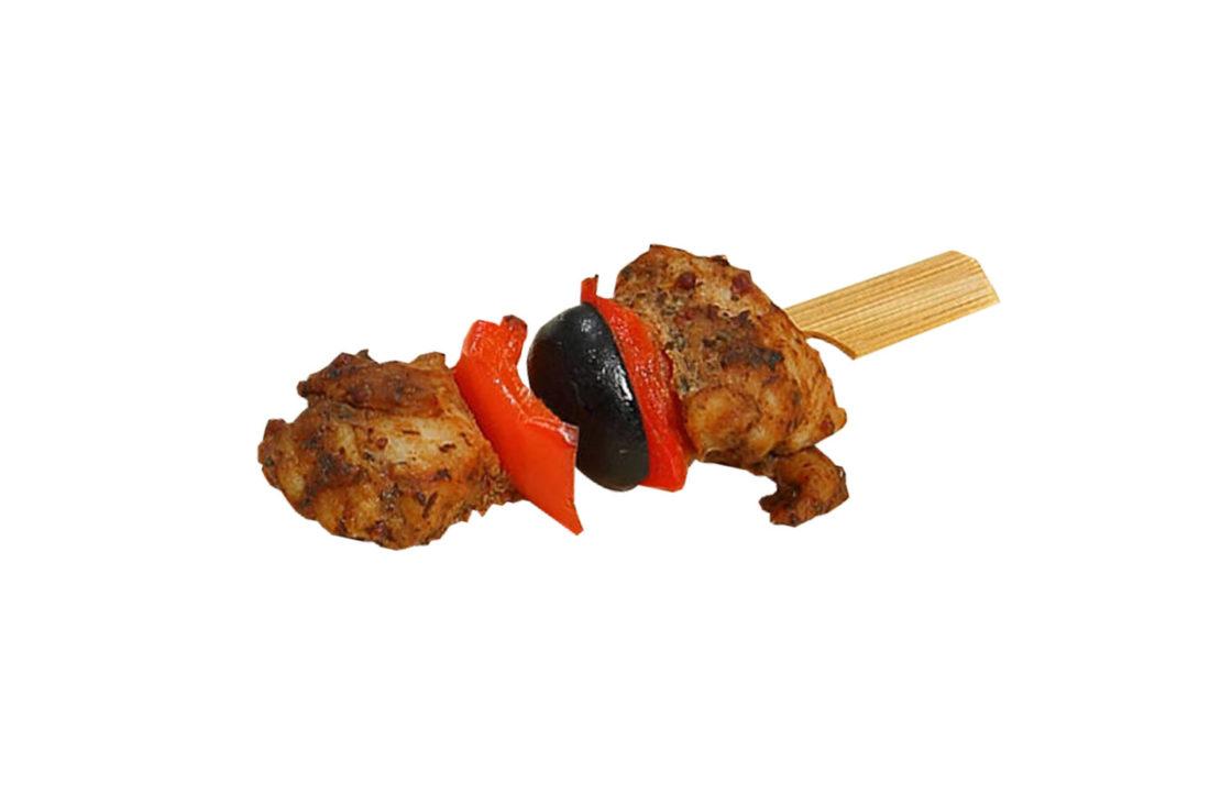 Hähnchenbrust-Paprika Spießchen