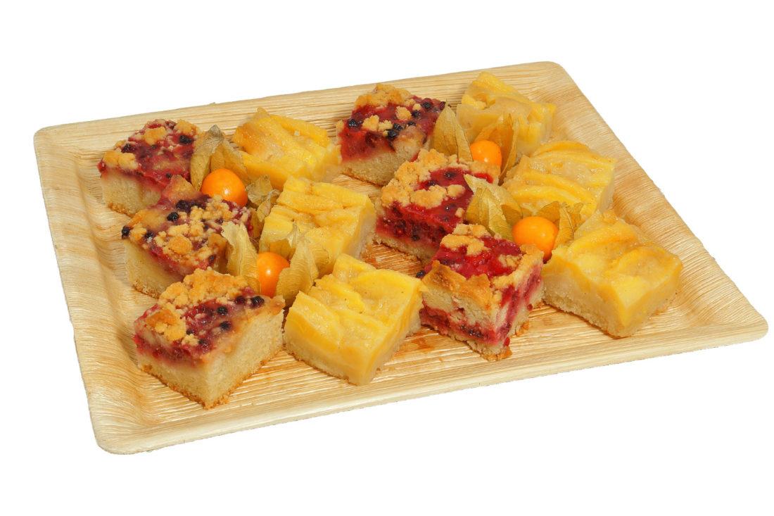 12er Kuchenhäppchen Platte VEGAN