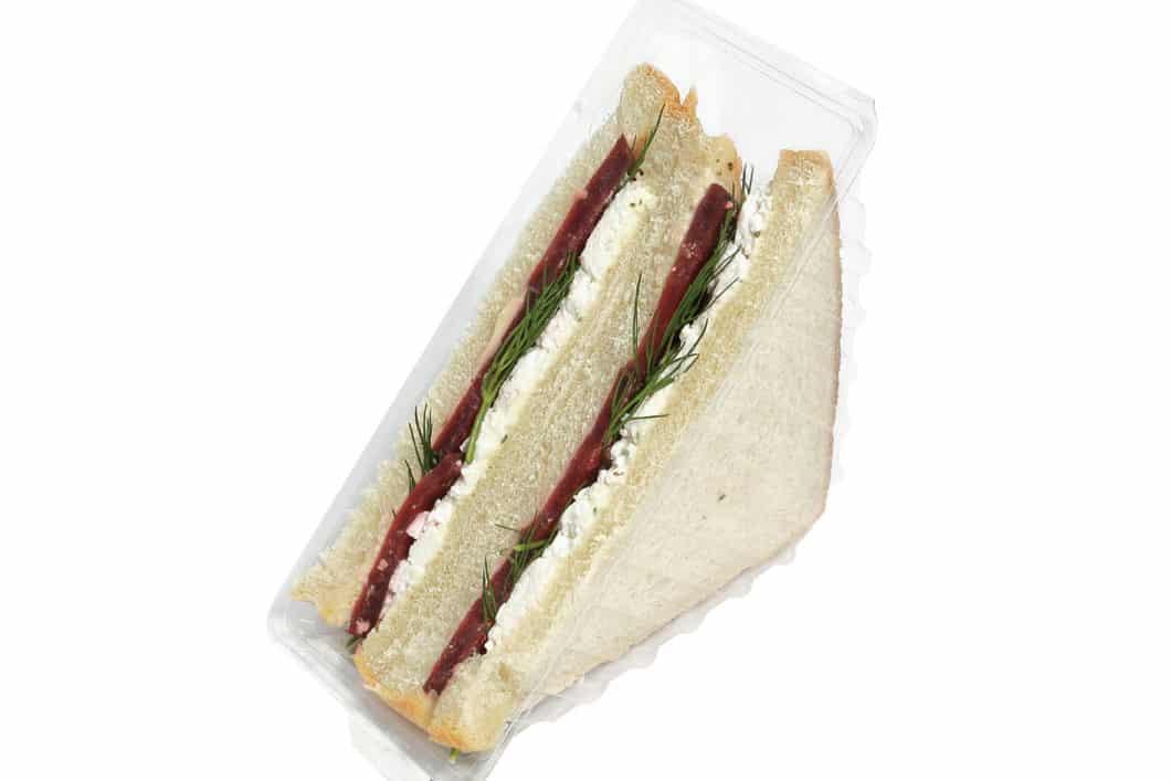American Sandwich mit Rote Beete-Ziegenkäse