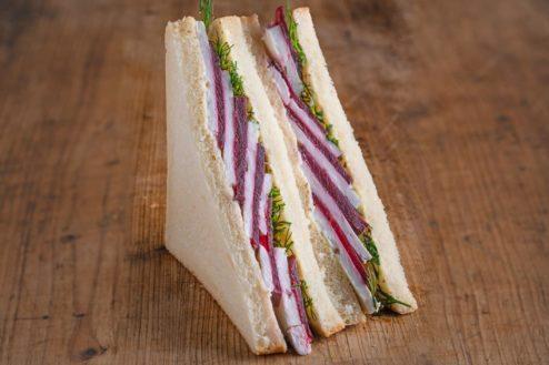 American Sandwich rote Beete Ziegenkäse