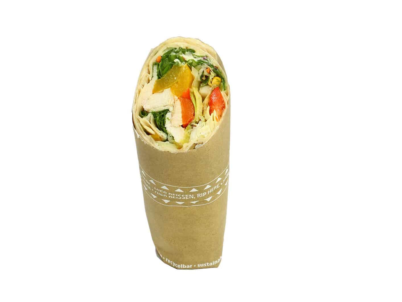 Wrap Hähnchen-Gemüse