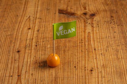 Fähnchen vegan