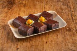6er Schoko Brownie Häppchen
