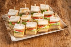 12er Mini Club Sandwich VEGGIE