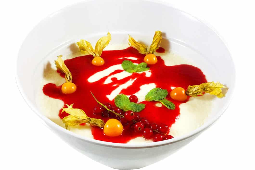 2,5 l Erdbeer Panna Cotta