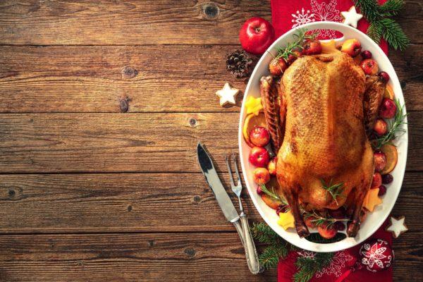 Weihnachtsmenü Entenkeule