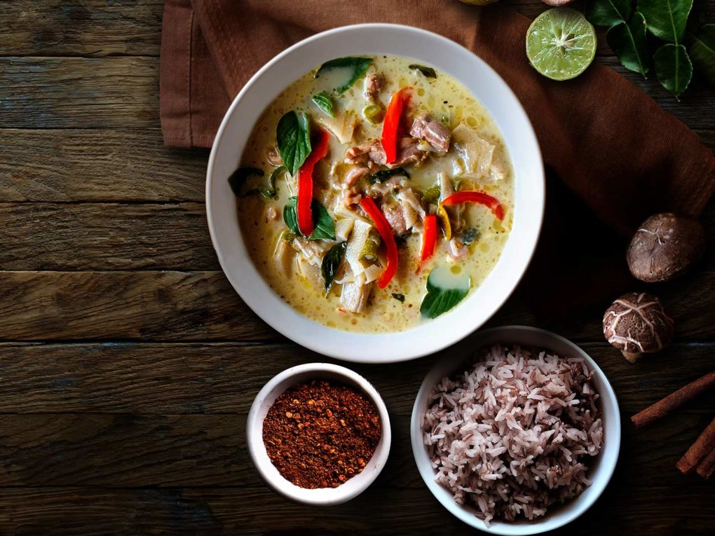 Lunch Menü BANGKOK