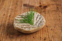 Mini Brötchen mit Auberginencreme