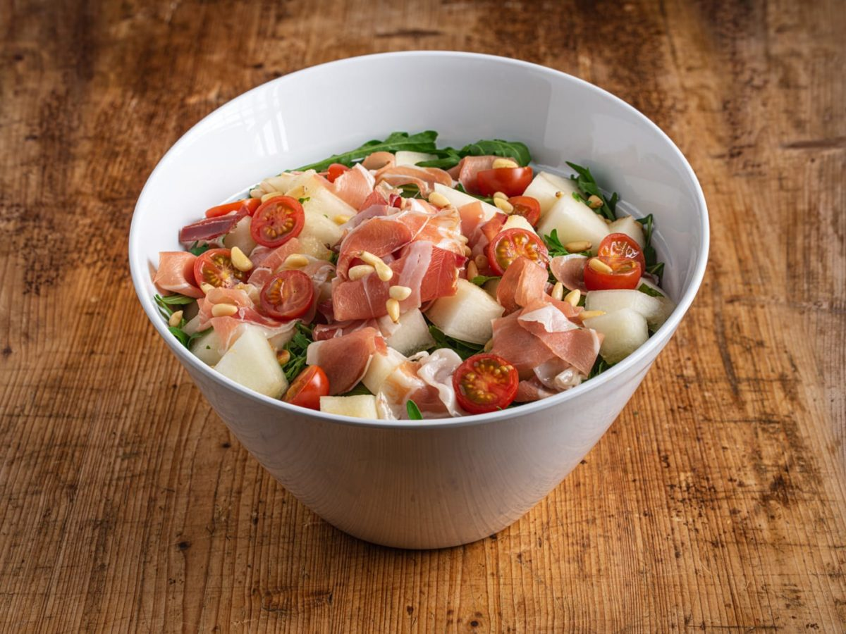 2,5 l Melone-Serrano Salat