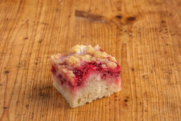 Johannisbeere Kuchen Häppchen VEGAN