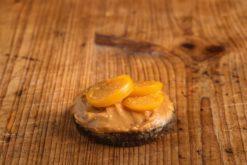 Canape Erdnussbutter