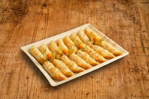 16er Kartoffel und Kaeseroellchen Platte