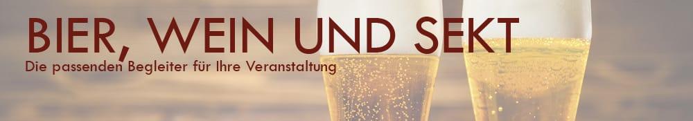 Bier, Wein & Sekt