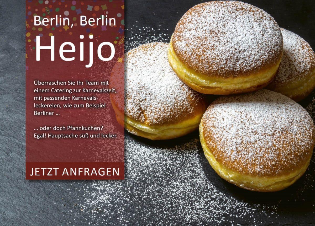 Fasching Berlin Bärlifood