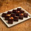 12er Brownie Haeppchen Platte