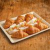 12er Mini Butter Croissant Apfelroellchen Platte