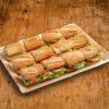 12er Mini Baguette Sandwich Platte PREMIUM