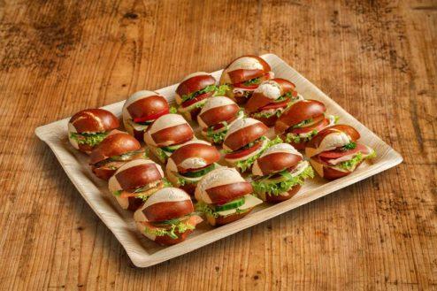 16er Mini Laugen Sandwich Platte PREMIUM