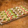 16er Broetchen Platte VEGGIE